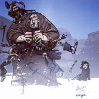 hodor smash by BrianKesinger