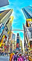 Times Square HDR by AlanSmithers