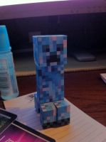 Minecraft - Snow Creeper by unusual229
