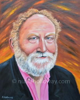 Portrait of Frank McGuinness by NualaHolloway