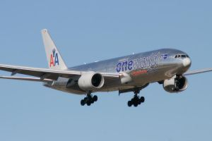 DFW 10 AA 777 OneWorld by Atmosphotography