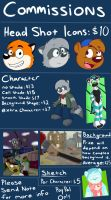 Commission Price Sheet by Cartcoon