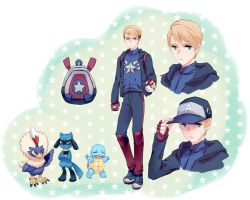 pokemon trainer ver. steve rogers by drchopper7