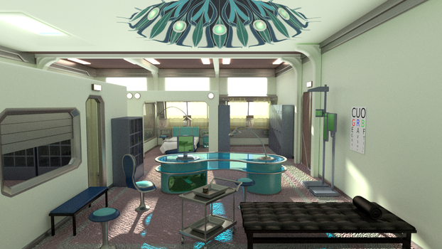 FF8 infirmary_entrance by Shunsquall