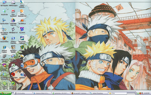 Naruto Desktop by HeartlessGhost24