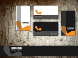industrial design team card by AndexDesign