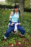 No I'm an earth bender - Legend of Korra by xMissPanda