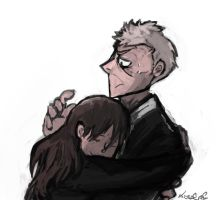 Doodle: The doctor is not a hugging person by tunaniverse