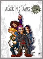 Alice In Chains by PelusoInChains