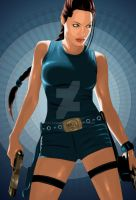 tomb raider by yasserian