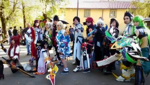 Elsword group Lucca 2015 by LilituhCosplay