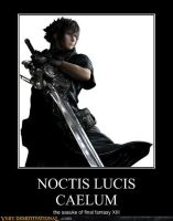 noctis demotional poster by juncarlo123