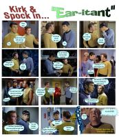 Kirk and Spock in *Ear-itant* by Therese-B