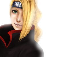 Deidara by daniellesylvan
