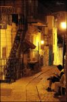 Night in the old city 4 by ShlomitMessica