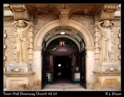 Town Hall Door Ossett Da 01 by richardldixon