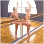 Ballet Stretch by RetroDevil