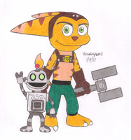 Ratchet and Clank by MarioSimpson1