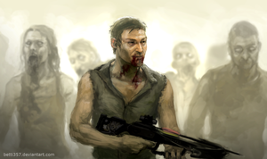 The Walking Dead by betti357