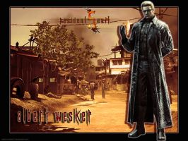 Albert Wesker re5 by Claire-Wesker1
