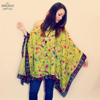Upcycled Eco Friendly Bohemian Poncho Top by TheBohemianDream