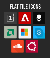 Flat Tile Icons by ceas-sn