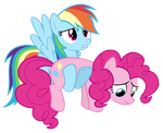 I found a frowny face Pinkie by HankOfficer