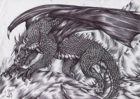 Week 25-Black Dragon by FuriarossaAndMimma