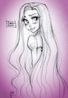 Disney Princess Rapunzel by darkodordevic