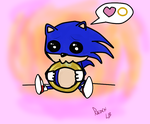 Sonic loves his rings by LightningB