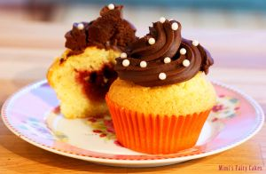 Neapolitan Fuerst Pueckler Cupcakes by Cailleanne