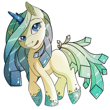 MLP: Looking Glass: Seaglass Theme by Mychelle