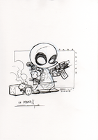 Deadpool Expocomic 2009 by Bou87