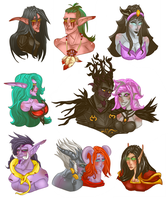 A Lot O Busts by Dark-Edyn