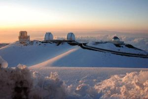 Four Mauna Kea Telescopes by hokeywolfe