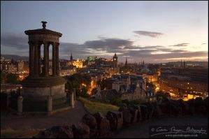 A View Of Britain - Edinburgh by gdphotography