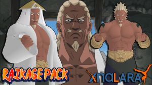 Naruto UNS3 - Raikage Pack FOR XPS by ASideOfChidori
