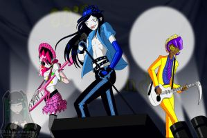 80's Drag Boy Band LIVE! by Chibi-Warmonger