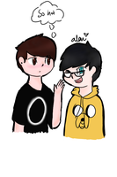 Dan and Phil by Iridescence99