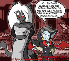 A trickster and a vampire EDIT by BrokenTeapot
