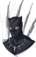 Black Panther by IBlackWolf