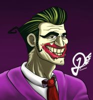 Daily doodle #1 Joker by Fuchsworld
