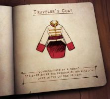 The Forest's Lost and Found - Traveler's Coat by zazB