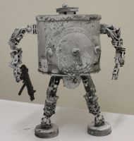 assemblage snow robot by rupertvalero