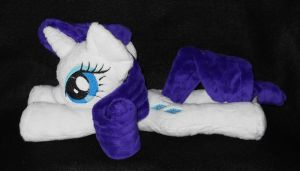 Rarity Plush by SailorMiniMuffin