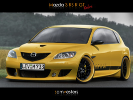 Mazda 3 RS R GT by Ophideus