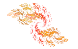 fract red spiral png by ultimalitho