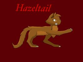 Warriors OC: Hazeltail by DragonHearteDzoruA