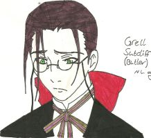 Grell Sutcliff Butler by Shadowismrevilgecko