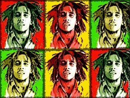 Bob Marley by killer-queen-g